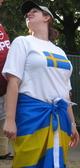 Schwedenfahne als Rock
