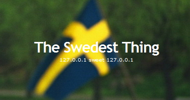 The Swedest Thing Logo
