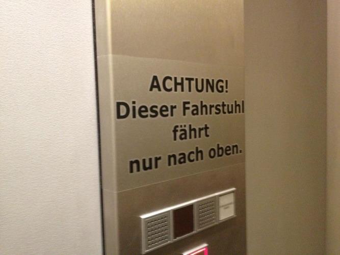Aufzug IKEA