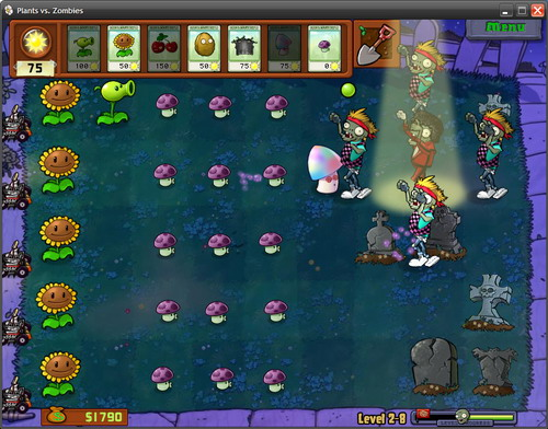 Michael Jackson Plants vs. Zombies