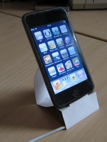 Paper iPod Dock