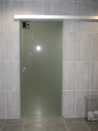 Schiebetür Toiletten